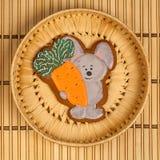 Biscuits faits maison pour le thé Images libres de droits