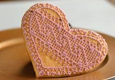 Biscuits faits maison très savoureux ! Image stock