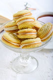 Biscuits with filling Royalty Free Stock Images