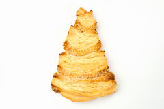 Biscuits floconneux arrosés avec le sésame et le sucre Photos libres de droits