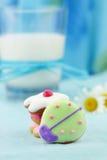 Biscuits formés par anomalie mignonne photos stock