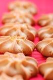 Biscuits frais cuits au four Photos stock