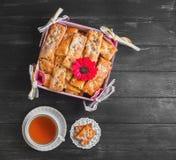 Biscuits frais cuits au four Photographie stock