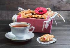 Biscuits frais cuits au four Photographie stock libre de droits