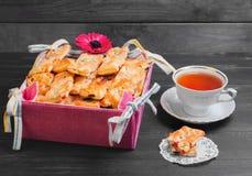 Biscuits frais cuits au four Image stock