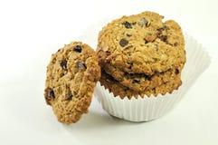 Biscuits frais cuits au four hors du four photos libres de droits