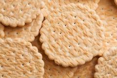 Biscuits frais délicieux comme fond Photographie stock libre de droits