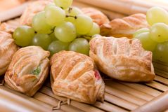 Biscuits français Images libres de droits
