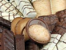 Biscuits gastronomes Images libres de droits