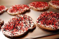 Biscuits givrés Photos libres de droits