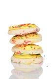 Biscuits givrés Photo stock