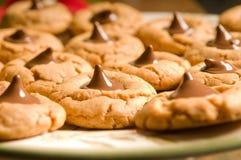 Biscuits gluants cuits au four frais Photos libres de droits