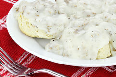 Biscuits and Gravy Stock Photos