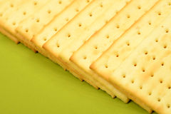 Biscuits On Green Bowl Royalty Free Stock Image