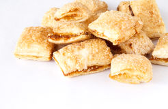 Biscuits heap Stock Photo