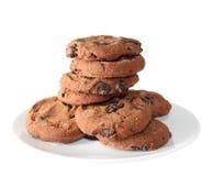 Biscuits (image avec le chemin de coupure) Photographie stock