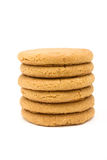 Biscuits instantanés de gingembre Images libres de droits