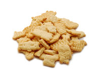 Biscuits isolated Royalty Free Stock Photography