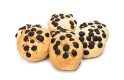 Biscuits isolated Royalty Free Stock Image