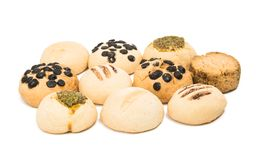 Biscuits isolated Stock Images