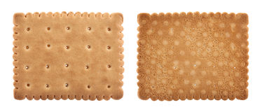 Biscuits isolated on white Stock Photo
