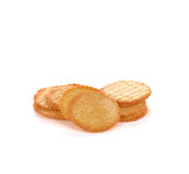 Biscuits isolated on white background. Stock Photography