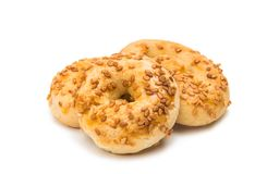 Biscuits isolated Stock Photography