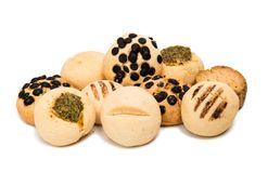 Biscuits isolated Stock Image