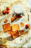 Biscuits italiens de fromage croquants croquants Photographie stock