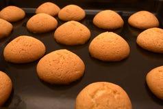 Biscuits juste d'un four images libres de droits