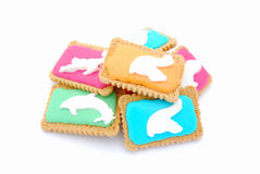 Biscuits for kids Stock Images