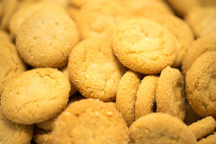 Biscuits Macro View Royalty Free Stock Photo