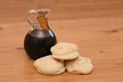 Biscuits and Molasses Stock Photo