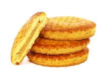 Biscuits néerlandais de pâte d'amande photo stock