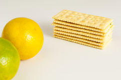 Biscuits oranges Royalty Free Stock Photo