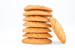 Biscuits, pile Photos stock