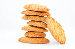 Biscuits, pile Photo stock