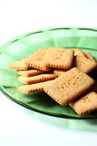 Biscuits on a plate Stock Photo