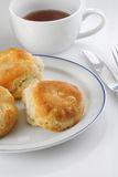 Biscuits on Plate Royalty Free Stock Image