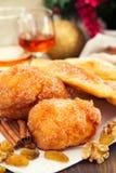 Biscuits portugais de Noël Image stock