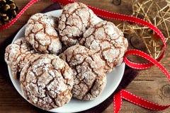 Biscuits pour Chrismas images libres de droits