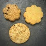 Biscuits pour le petit déjeuner Images libres de droits