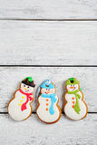 Biscuits pour Noël photo stock