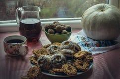 Biscuits préférés pour le petit déjeuner photos libres de droits