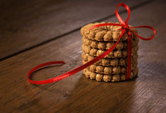 The biscuits Royalty Free Stock Photography