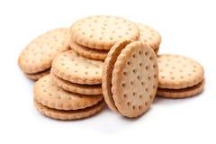 Biscuits remplis Image libre de droits