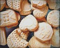 Biscuits sablés Image libre de droits