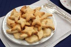Biscuits sablés avec du sucre photo libre de droits