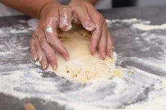 Biscuits sablés de mélange de vanille photo stock