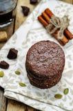 Biscuits sablés de Pepita de chocolat mexicain Photographie stock
